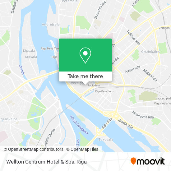 Wellton Centrum Hotel map