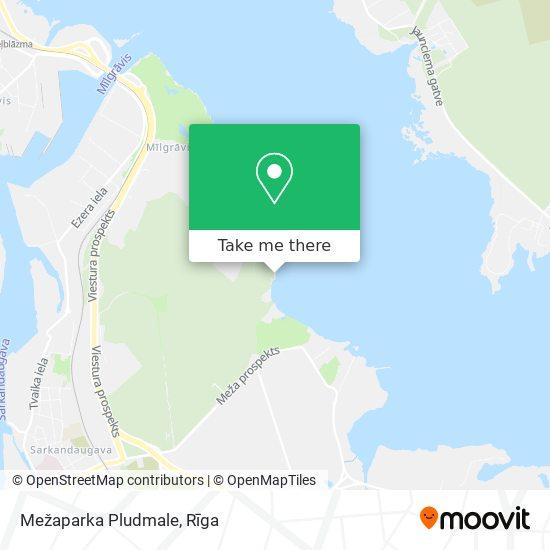 Mezaparka Pludmale map