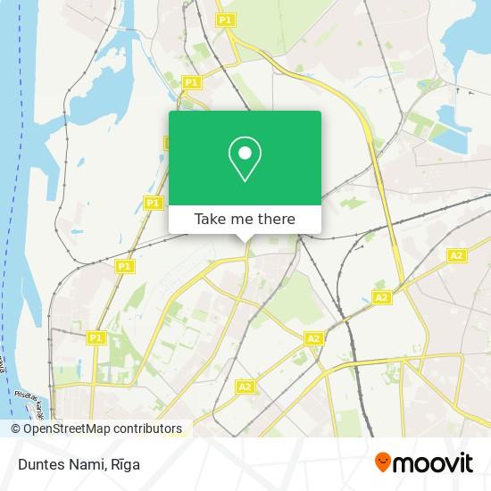Duntes Nami map