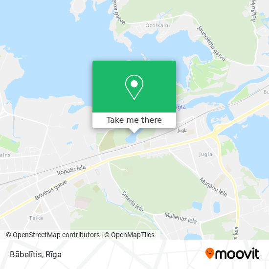 Bābelītis map