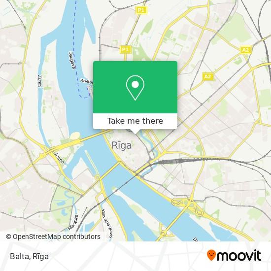Balta map