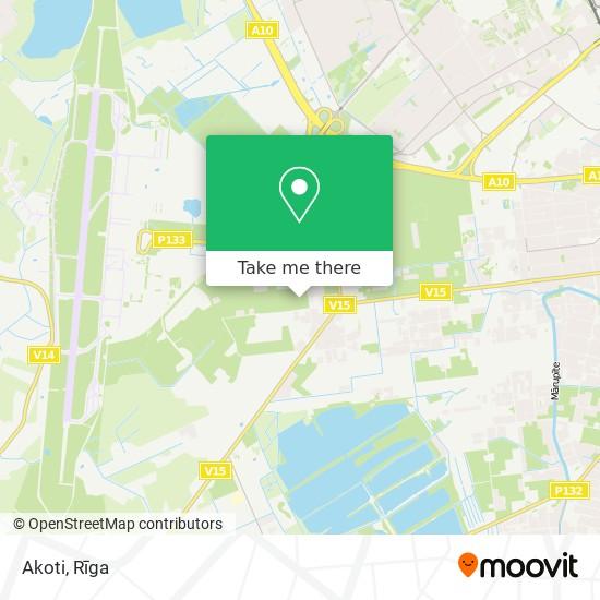 Akoti map