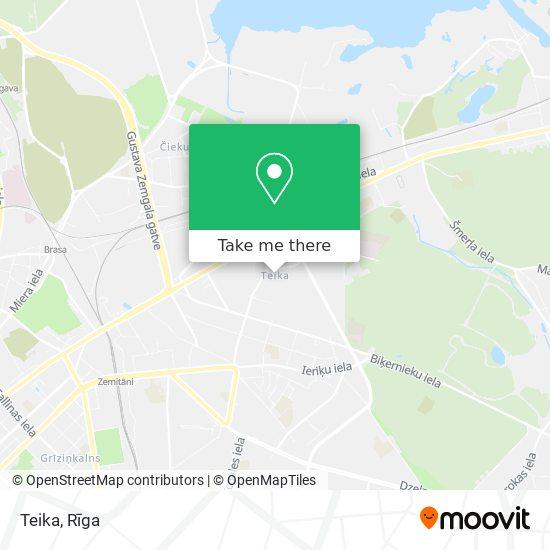 Teika map