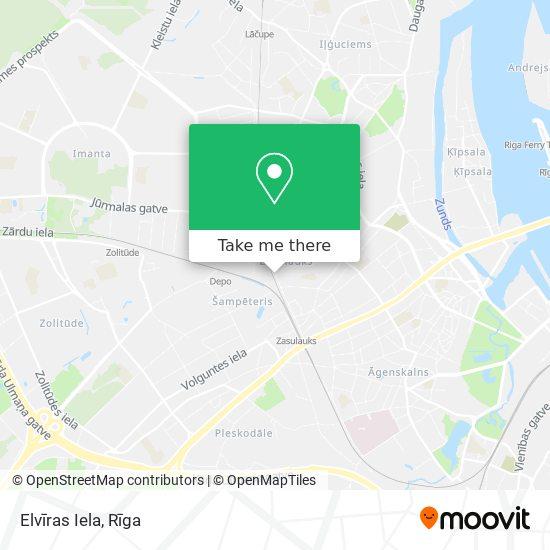 Elvīras Iela map