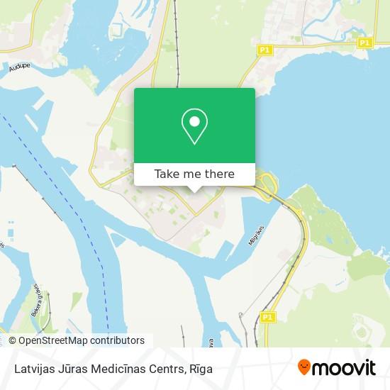 Latvijas Jūras Medicīnas Centrs map
