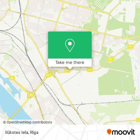 Ilūkstes Iela map