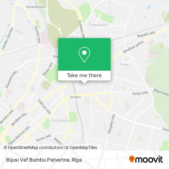 Bijusi Vef Bumbu Patvertne map