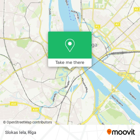 Slokas Iela map