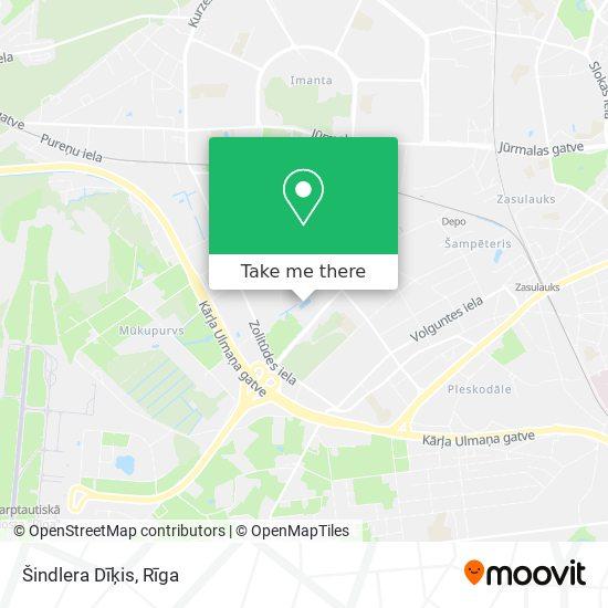 Šindlera Dīķis map
