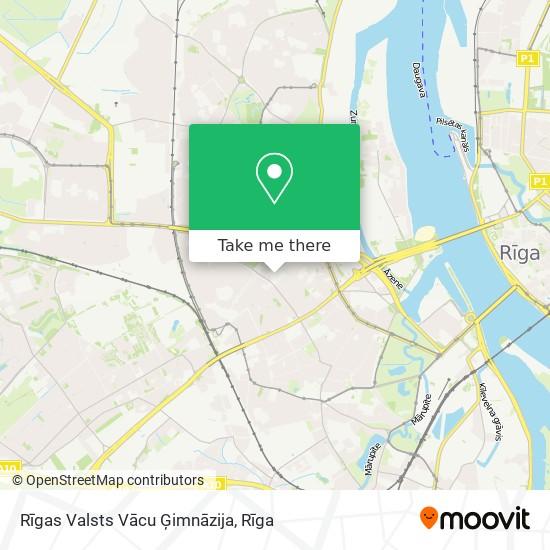 Rīgas Valsts Vācu Ģimnāzija map