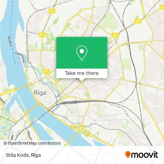 Stila Kods map