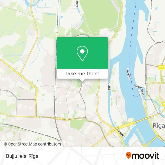 Buļļu Iela map