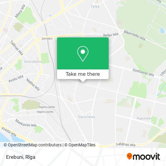 Erebuni map
