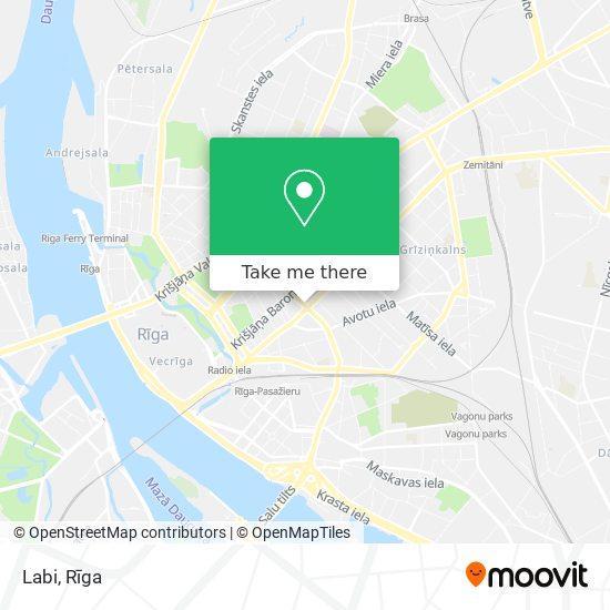 Labi map
