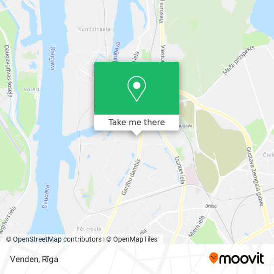 Venden map