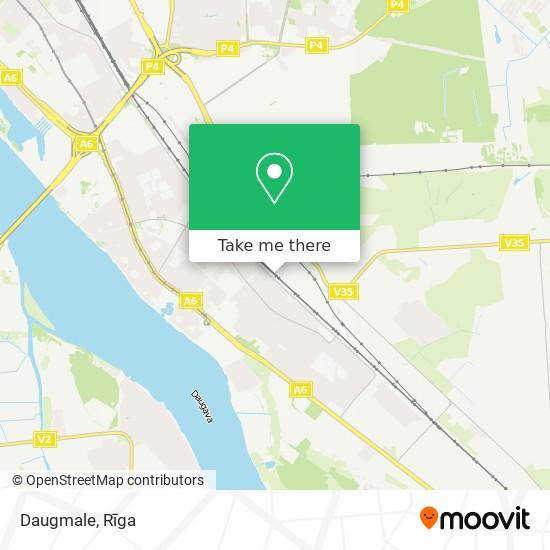 Daugmale map