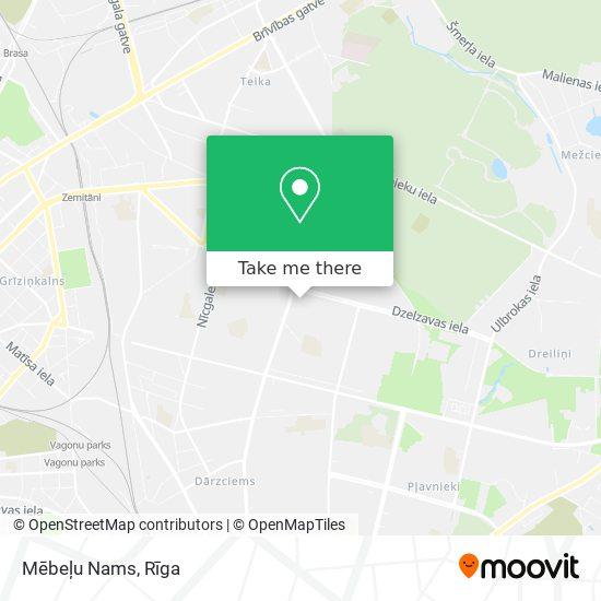 Mēbeļu Nams map
