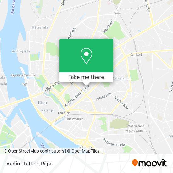 Vadim Tattoo map