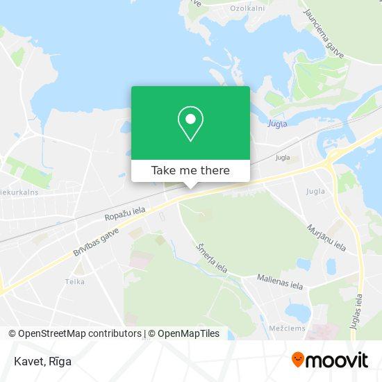 Kavet map