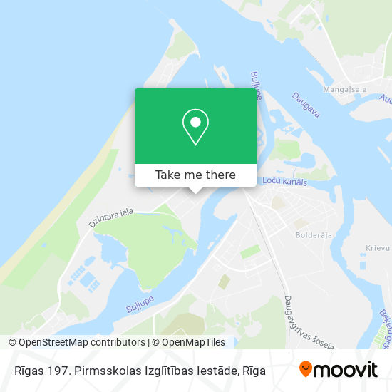 Daugavgrīvas map
