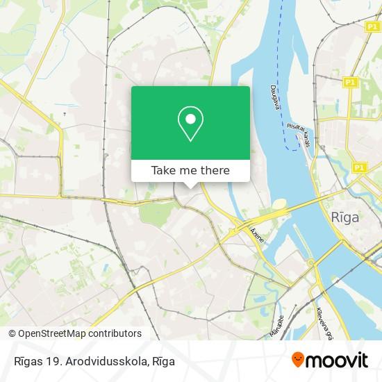 Rīgas 19. Arodvidusskola map