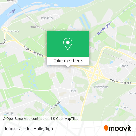 Inbox.Lv Ledus Halle map