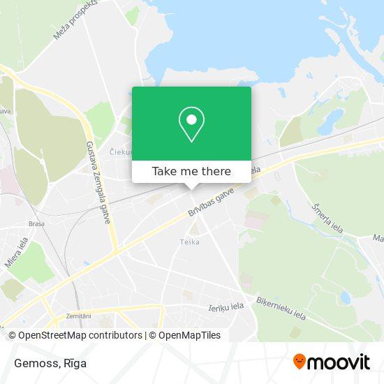 Gemoss map
