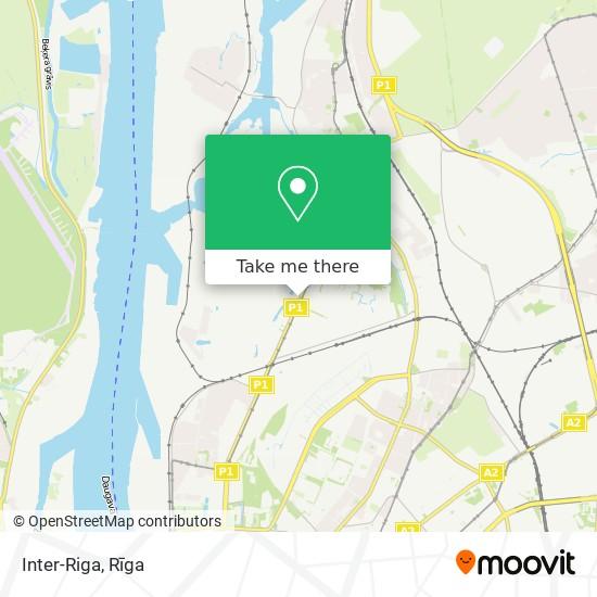 Inter-Riga map