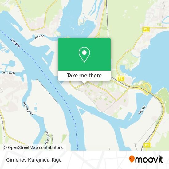 Ģimenes Kafejnīca map