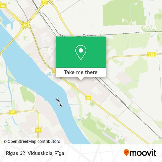 Rīgas 62. Vidusskola map
