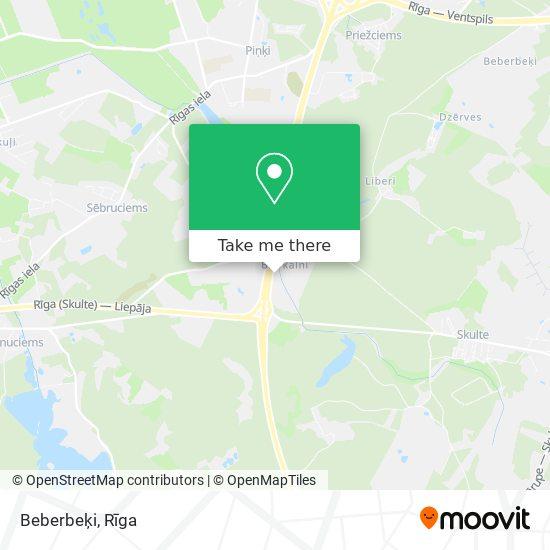 Beberbeķi map