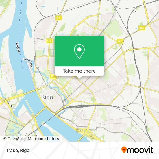 Trase map