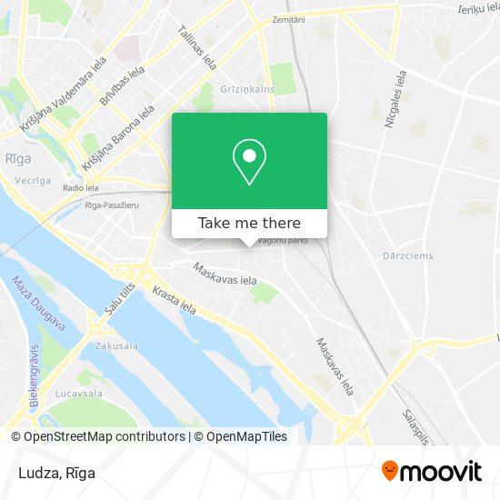 Ludza map