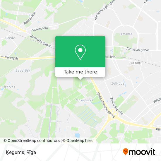 Ķegums map