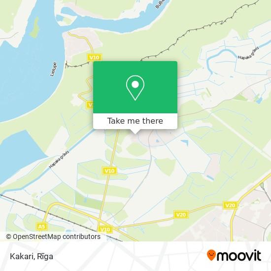 Kakari map