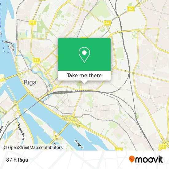 87 F map