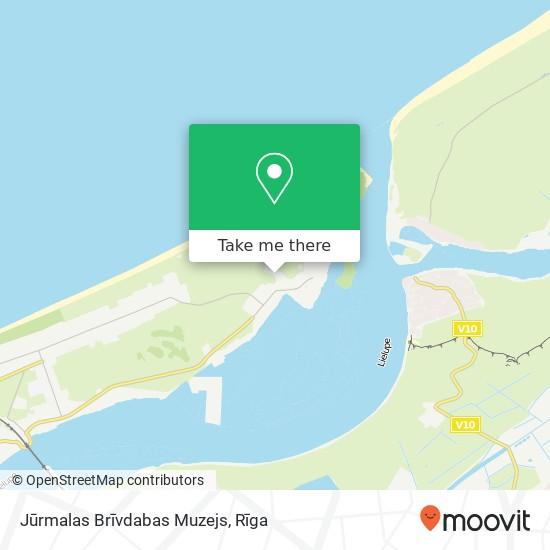 Jūrmalas Brīvdabas Muzejs map