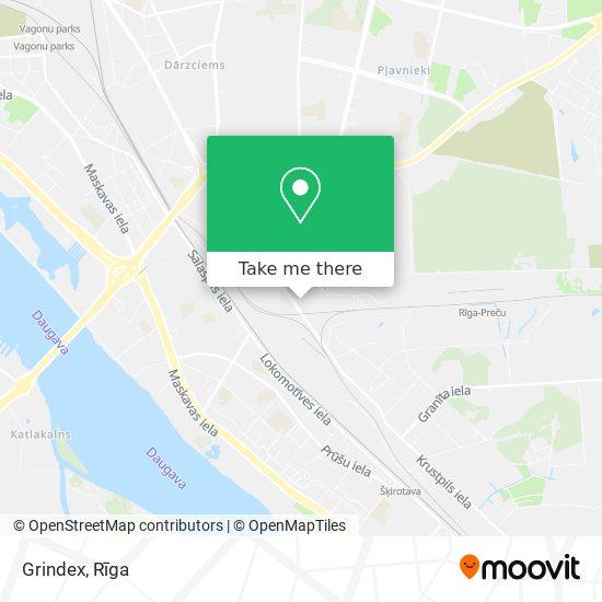 Grindex map