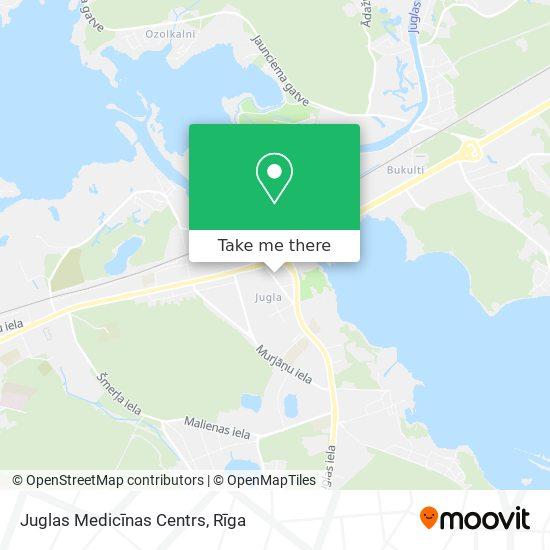Juglas Medicīnas Centrs map
