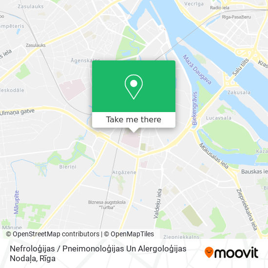 Nefroloģijas / Pneimonoloģijas Un Alergoloģijas Nodaļa map