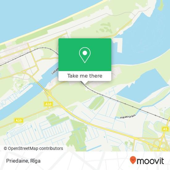 Priedaine map