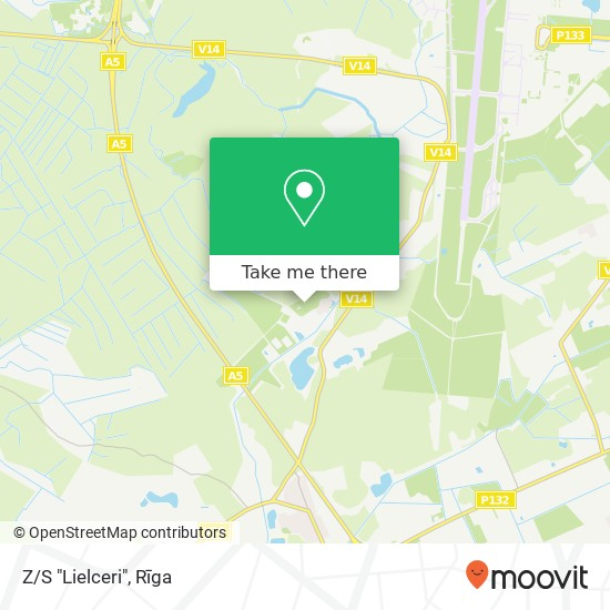 "Z/S ""Lielceri"" map"
