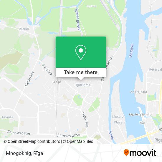 Mnogoknig map