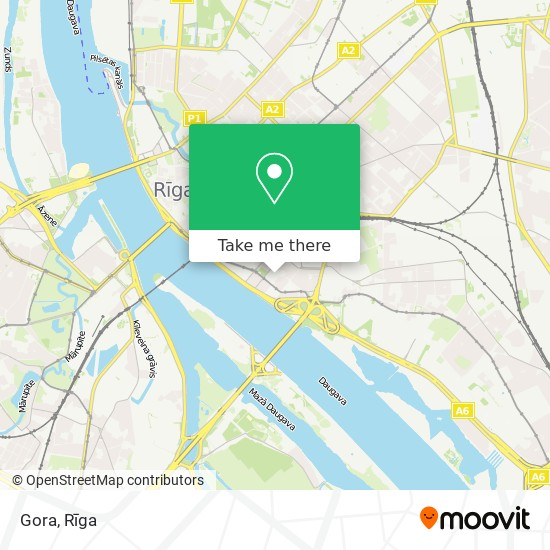 Gora map