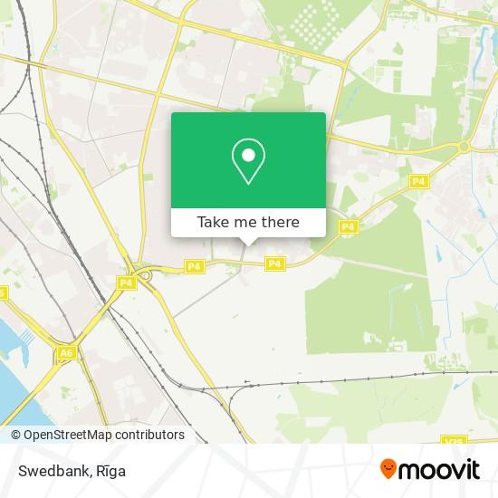 Swedbank map