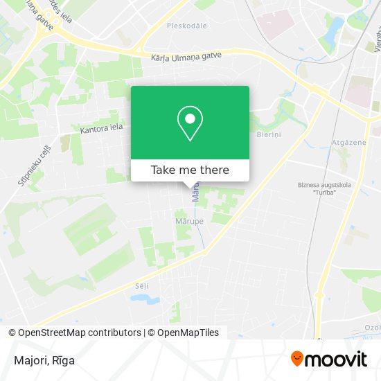 Majori map