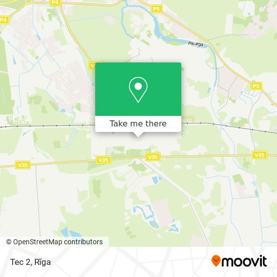 Tec 2 map