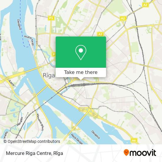 Mercure Riga Centre map