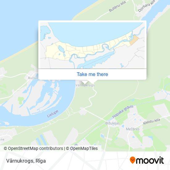 Vārnukrogs map