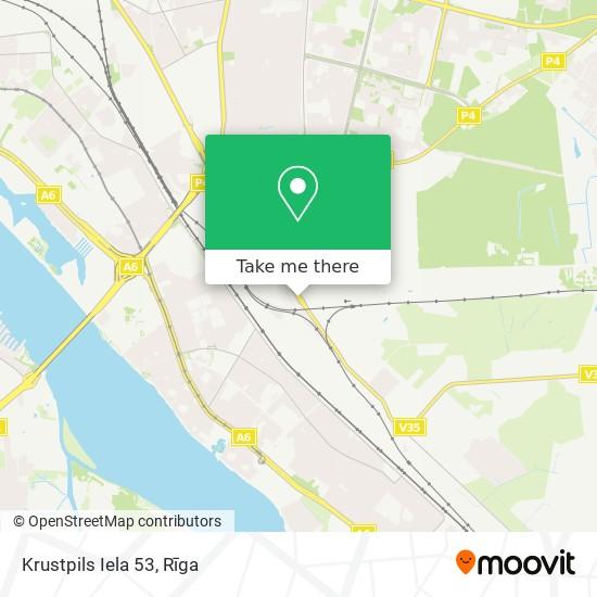 Krustpils Iela 53 map